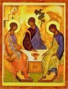 The Holy Trinity by Rublev